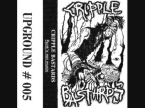 CRIPPLE BASTARDS - Punk's Not Music ('95) tape