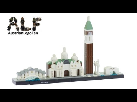 Lego Architecture 21026 Venice - Lego Speed Build Review