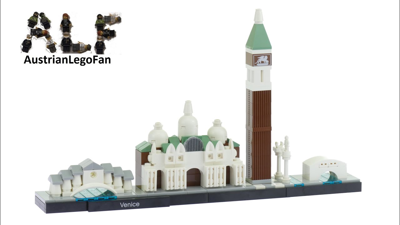 Lego architecture 21026 venice lego speed build review for Architecture venise