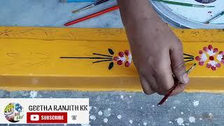 Gadapa muggulu||Easy Designs||Flower & Leaf Designs||GeethaRanjithKK