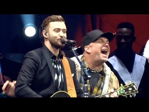 Justin Timberlake and Garth Brooks - Friends in Low Places