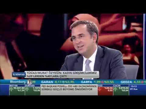 TÜSİAD Yönetim Kurulu Üyesi Murat Özyeğin BloombergHT İş Dünyası Programına Konuk Oldu