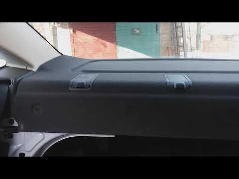 FORD Focus Se седан 2014г.в.США(USA)как снять заднюю полку,без труда.