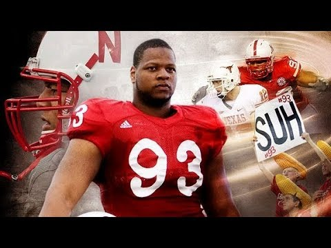 the latest 2ad07 076ce Ndamukong Suh ULTIMATE Nebraska Highlights!!