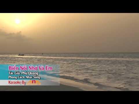 Biển nỗi nhớ và em karaoke [ nhạc sống ]