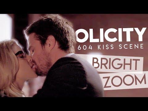 Olicity 6x04 Kiss Scene [SLOW MO/ZOOM/BRIGHT]