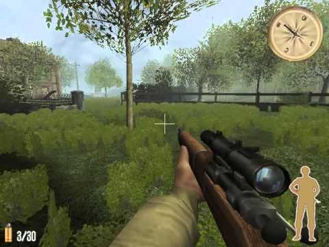 Игра Снайпер. Дороги войны - геймплей