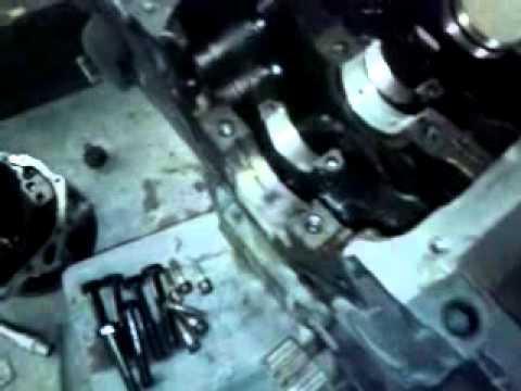 Сборка мотора от оки с приора
