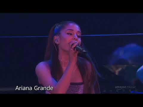 Ariana Grande - No Tears Left To Cry Live At Amazon prime day