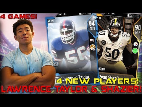 LAWRENCE TAYLOR, SHAZIER, RG3, & KEN HOUSTON! Madden 18 Ultimate Team