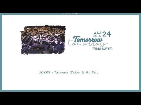 [Karaoke/Thaisub] BOYS24 (소년24) - Tomorrow (Yellow & Sky Ver.)