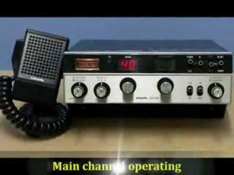 LAFAYETTE LM-300 dual-plex, 40 CH AM, CB-Radio