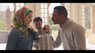 #نسر_الصعيد | ليلى تفاجئ زوجها زين القناوي في قسم الشرطة