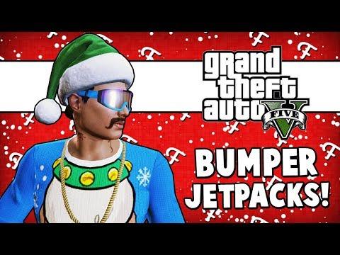 GTA 5: Trolling Renzzi, Fake Santa Claus Dies, Bumper Jetpacks (Online Doomsday DLC - Comedy Gaming)