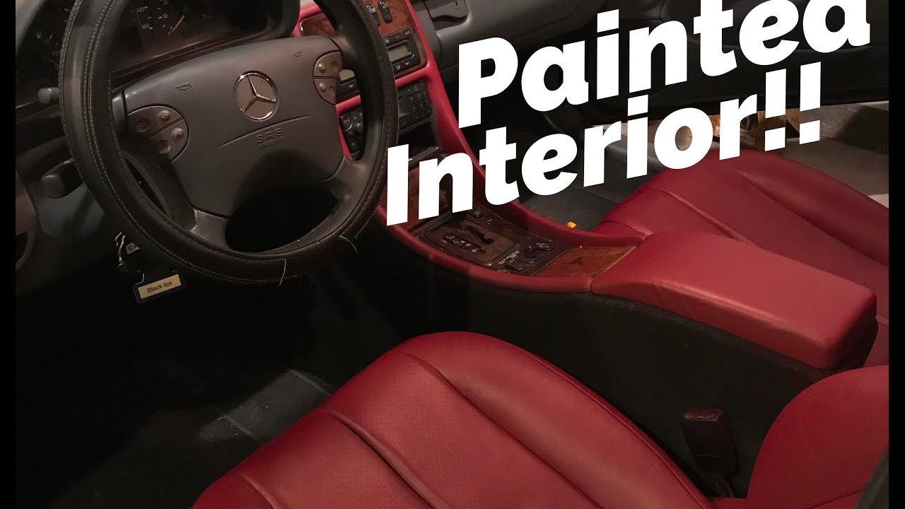 diy painting car seats different color youtube. Black Bedroom Furniture Sets. Home Design Ideas