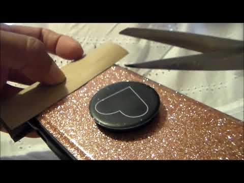 DIY: Cell Phone Camera Cover made with a toilet paper roll [Over50andFantabulous]