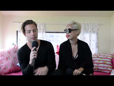 The Naked and Famous Interview at Big Day Out (Melbourne, 2014)