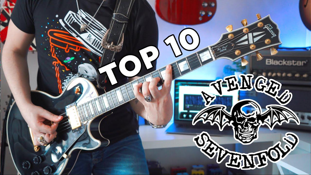 Top 10 Riffs: Avenged Sevenfold | STL Tones