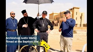 Archbishop Justin Welby at the Baptism Site