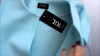 куртка figl m366 niebieski из неопрена