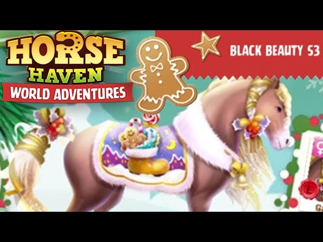 Black Beauty Event S3 - Christmas Prizes!!! | Horse Haven World Adventures