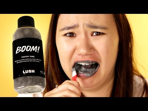 Thumbnail: People Try Lush's Toothpaste Alternatives