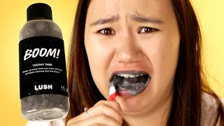 People Try Lush's Toothpaste Alternatives