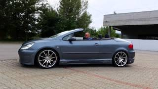 Tuning peugeot 307 CC roof opening(TUNED PEUGEOT 307 CC ROOF OPENING., 2014-08-14T16:02:21.000Z)