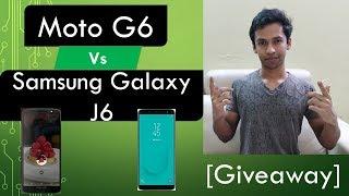Moto G6 vs Samsung Galaxy J6 [Hindi]
