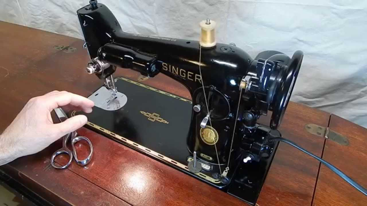 Singer sewing machine 201k manual free download.