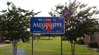 WELCOME TO MISSISSIPPI ON I-10