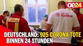 Deutschland: 925 corona-tote binnen 24 stunden