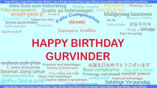 Gurvinder   Languages Idiomas - Happy Birthday
