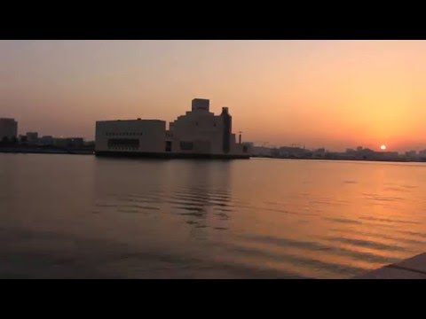 Doha Timelapse - MIA Sunset