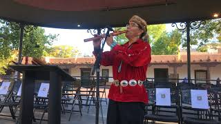 Indigenous Peoples Day Celebration 2017 - Morning Flute - Andrew Thomas | Navajo