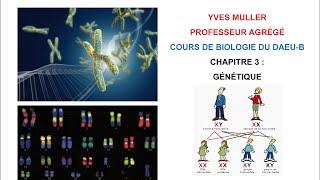 Chapitre 3 – Génétique - Cours de Biologie du DAEU-B