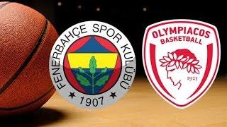 Fenerbahçe Avrupa Şampiyonu !!! - Fenerbahçe Olympiakos - Eurolig Final Four