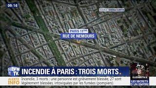 Incendie à Paris: le porte-parole des pompiers de Paris fait le point