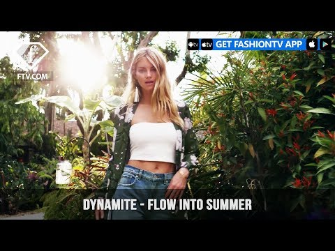Dynamite Clothing presents Flow Into Summer with the Boho Touch   FashionTV   FTV