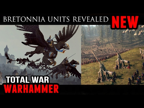 Total War: Warhammer - Hippogryph Knights and New Bretonnia Units (DLC News)