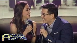 Jodi & Richard sing 'Love is All Around' on ASAP