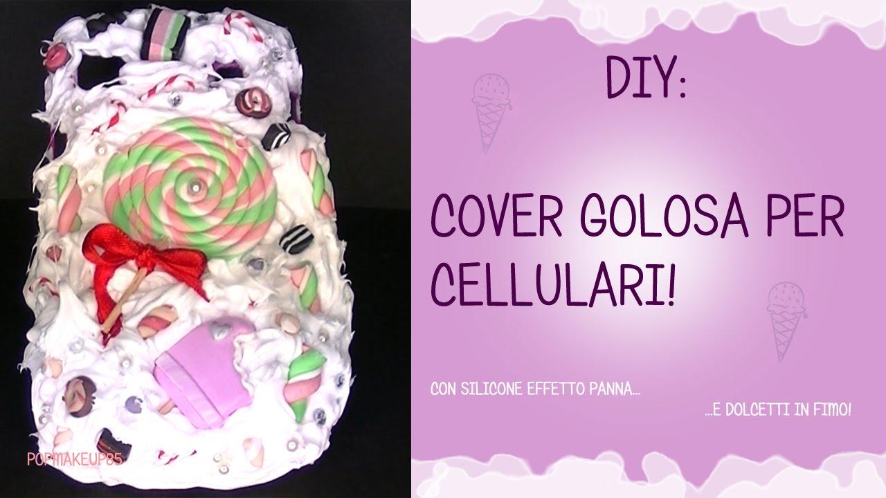 Cover Fai Da Te.Cover Per Cellulari Fai Da Te Con Silicone Effetto Panna Montata Diy Cover Personalizzate