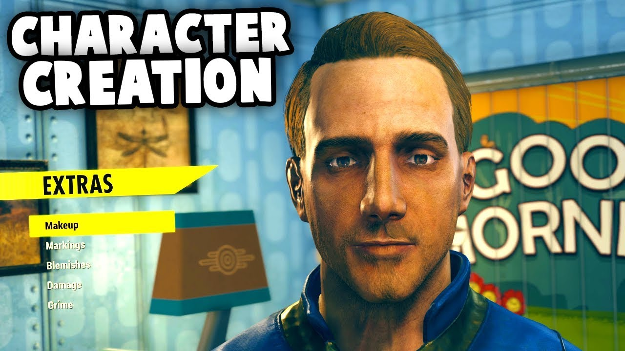 FALLOUT 76 CHARACTER CREATION And VAULT 76  (Fallout 76 Gameplay)