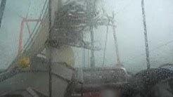 Weiße Boe / Sturm / white squall auf der Nordsee