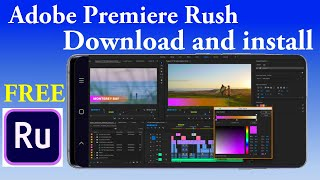 Download and install Ad๐be premiere rush (unlimited export) in any device for free