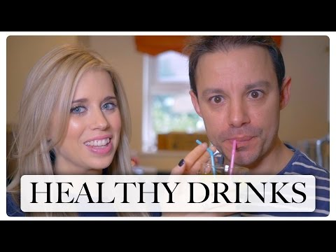 HEALTHY DRINKS | KALE SMOOTHIE & TURMERIC SHOT