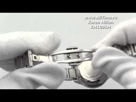 Женские наручные fashion часы Karen Millen KM109SM