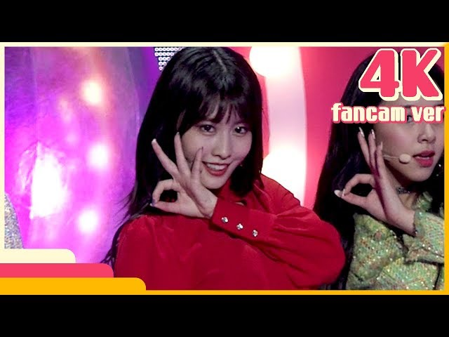 [4K & 직캠] TWICE -  Yes or Yes (Momo) @Show! Music Core 20181117