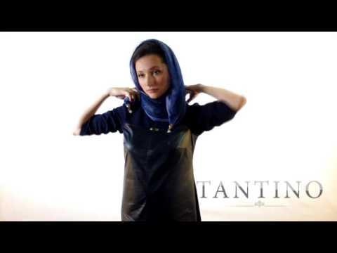 Cмотреть видео Как носить шарф-бусы от Tantino