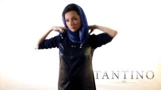Как носить шарф-бусы от Tantino